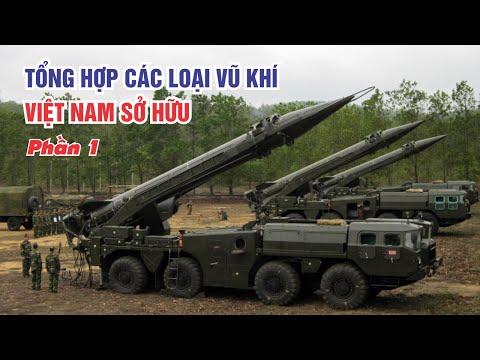 Vũ khí hiện đại được Việt Nam sử dụng( phần 1 )