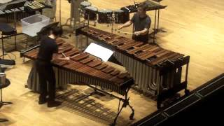 Ivan Trevino Into the Air for Marimba Duo