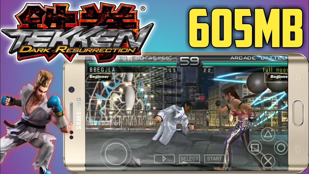 Download Tekken 5 On Android Highly Compressed Youtube