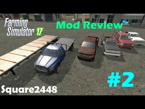 Farming Simulator Mod Review Lots Of Trucks