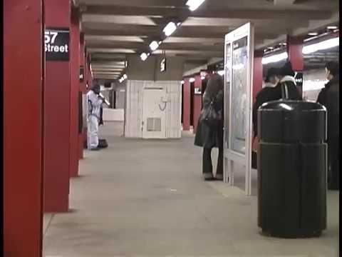 F Line, 57th Street Subway Stop New York City