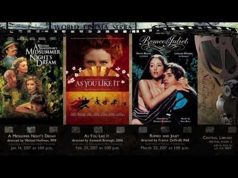 World Cinema Series ~ Celebrating Shakespeare