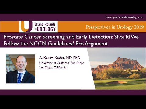 nccn prostate cancer screening guidelines