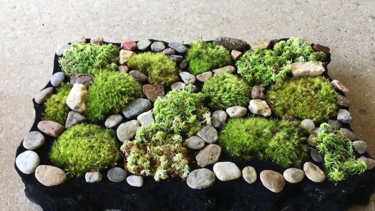 Diy Wildcrafted Moss Bathmat