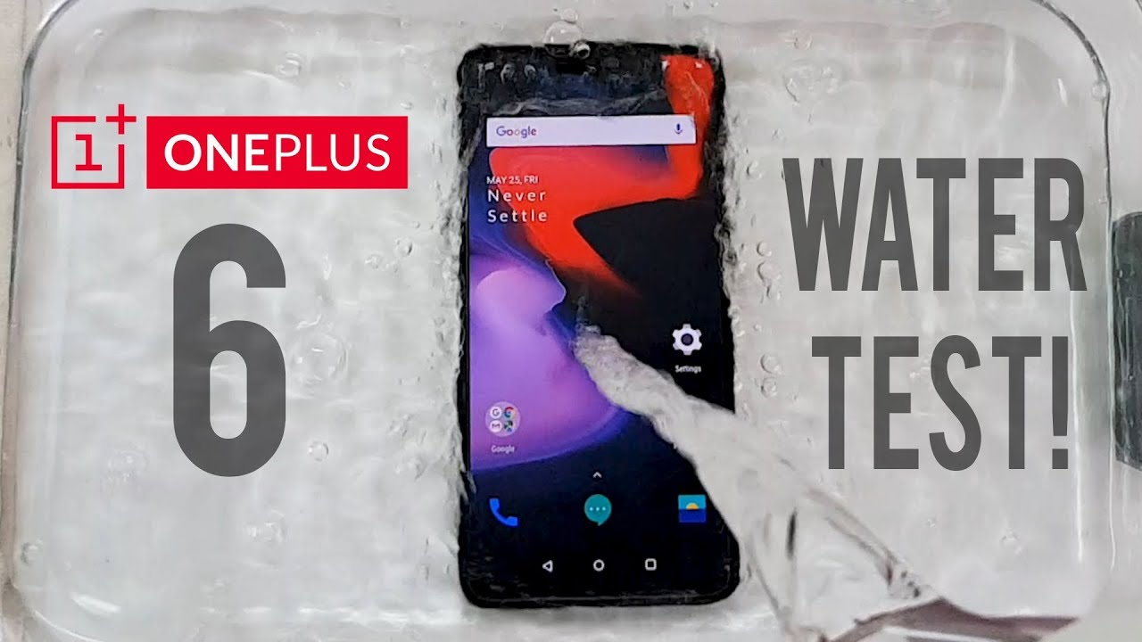 san francisco 8786c 6b89c OnePlus 6 Water Test! Actually Waterproof?