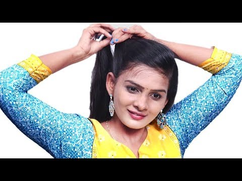cute-self-hairstyles-for-girls-||-beautiful-self-hairstyle\simple-hairstyle\hairstyle-girl