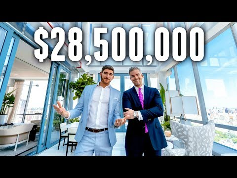 NYC Apartment Tour: $28.5 MILLION LUXURY APARTMENT
