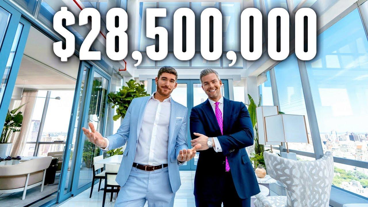 Тура низ луксузен стан во Њујорк од 28.5 милиони долари