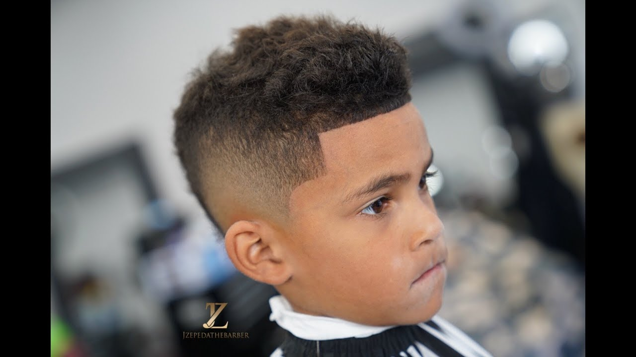 kids haircut | mohawk | tutorial