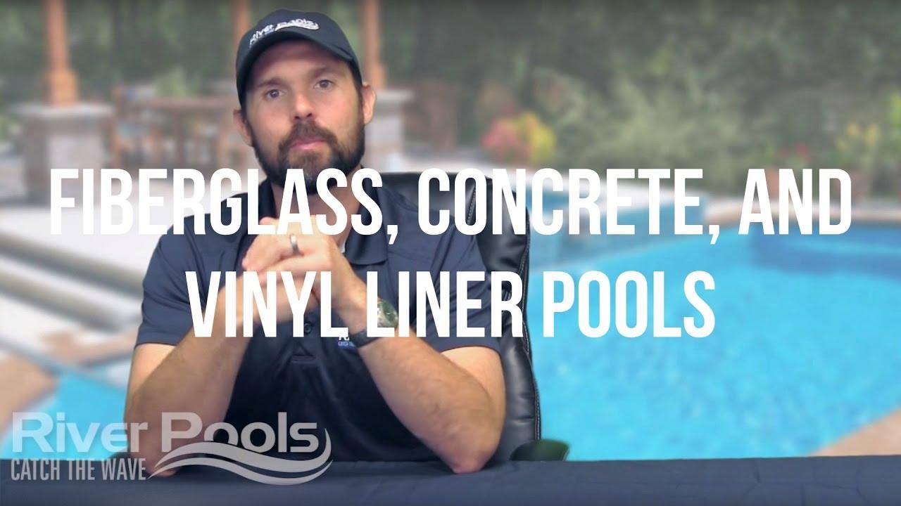 Fiberglass Pools vs. Concrete Pools vs. Vinyl Liner Pools ...