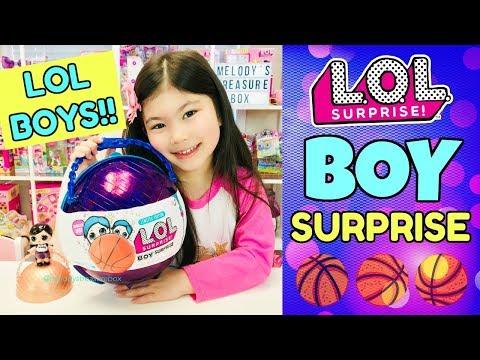 LOL SURPRISE BOY SURPRISE! L.O.L. Boys Confetti Pop Series 3 Wave 2 Punk Boi Custom DIY Purple Pearl