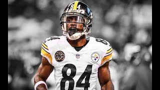 "Antonio Brown || 2017-2018 Steelers Highlights ""MVP"" ᴴᴰ"