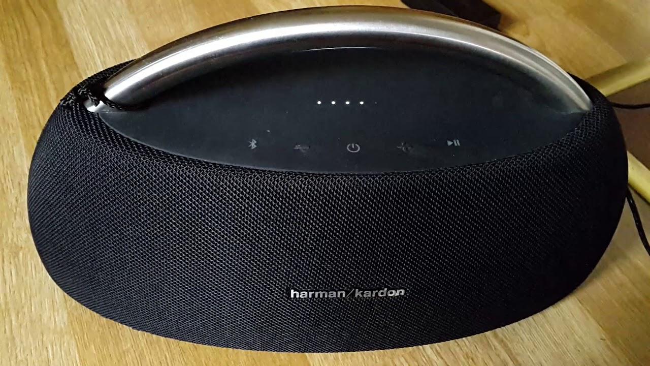 Charging problem on the Harman-Kardon Go Play 2016