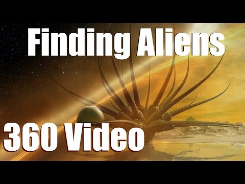 7 MOST LIKELY PLACES TO FIND ALIEN LIFE [360 video] in Space Engine