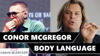 Conor McGregor Body Language Breakdown