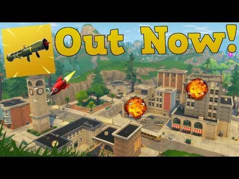 NEW *GUIDED MISSILE* OUT NOW.. FORTNITE NEW WEAPON!