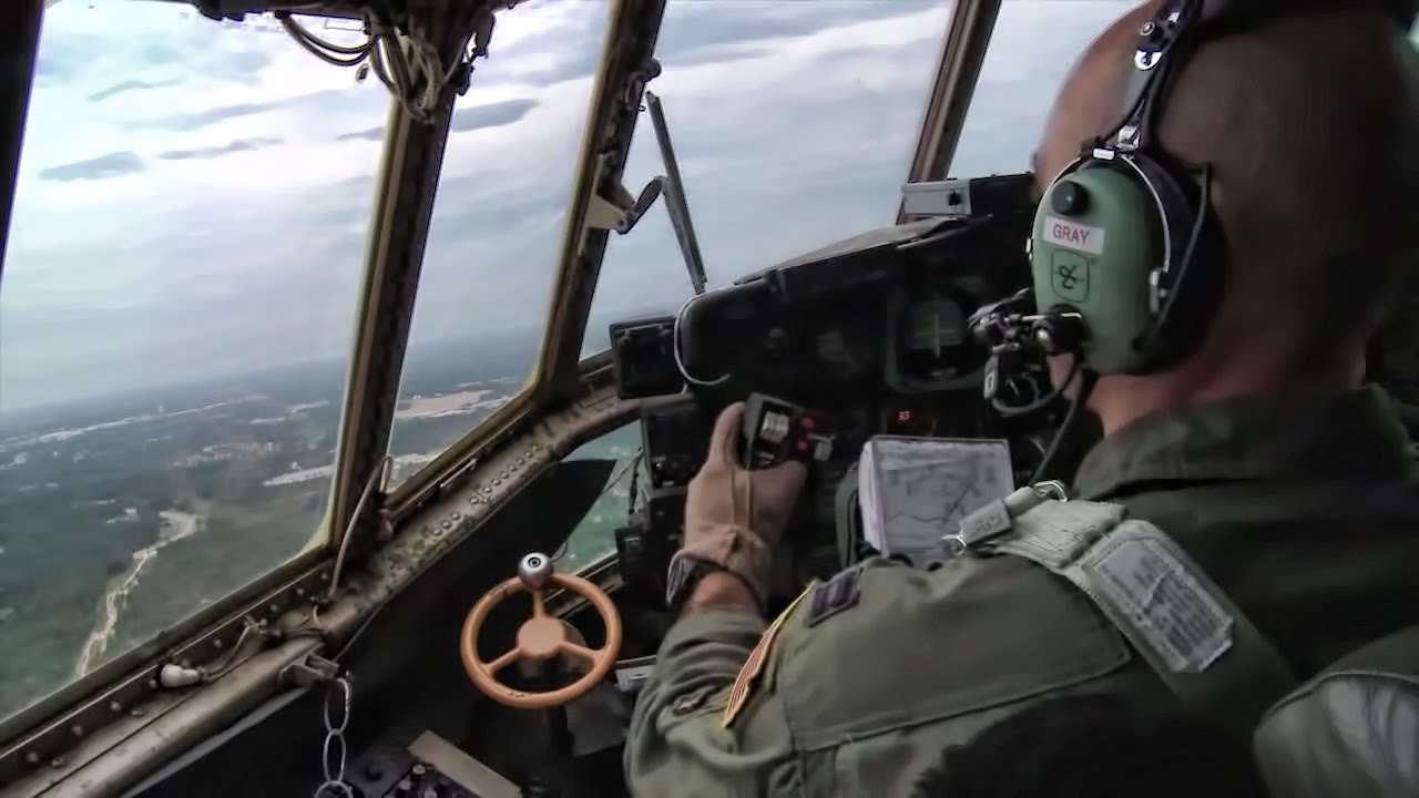 C 130 Airdrops Humvees Cockpit Amp Cargo Bay View Youtube