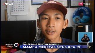 KEREN Hobi Main Game Bocah SMP di Tangsel Peretas Situs NASA dan KPU RI iNews Siang 04 04