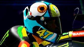 ANDIAMO IN YAMAHA CON UN CASCO EPICO - MotoGP 17 MOD