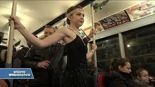 New York Metrosunun Nostalji Trenleri