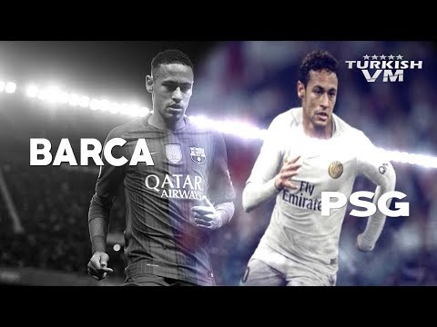 Neymar in Barcelona vs Neymar in Paris SG | HD