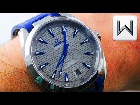 Omega Seamaster Aqua Terra Co-Axial Master Chronometer 220.12.41.21.06.001 Luxury Watch Review