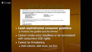 DisputeSuite Webinar: FDCPA (Fair Debt Collection Practices Act) - 6/10/15
