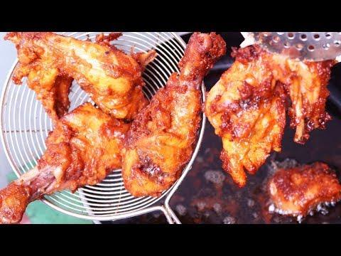 সুপার ক্রিসপি ফ্রাইড চিকেন|Crispy Fried Chicken Recipe|Fried Chicken Recipe Bangla