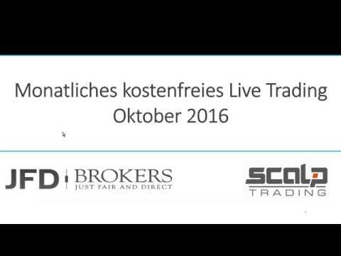 Highspeed Trading - Oktober 2016 - Live Trading