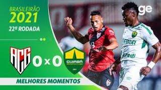 Атлетико Гояниенсе  0-0  Куяба видео