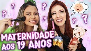 A REALIDADE DA GRAVIDEZ aos 19 ANOS! | Bia Oliveira e Gabi Magsan