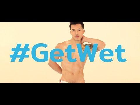 #GetWet แฟชั่นสุดฮอตจากเหล่านายแบบดัง