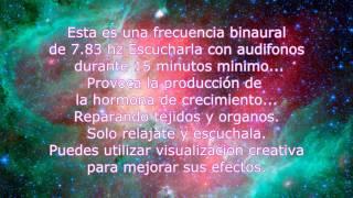POSIBLE REJUVENECIMIENTO Y REPARACIÓN CELULAR con 7.83 hz b...
