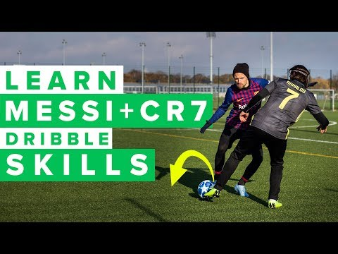 MESSI & CR7 SKILLS YOU NEED TO LEARN | top 5 football skills