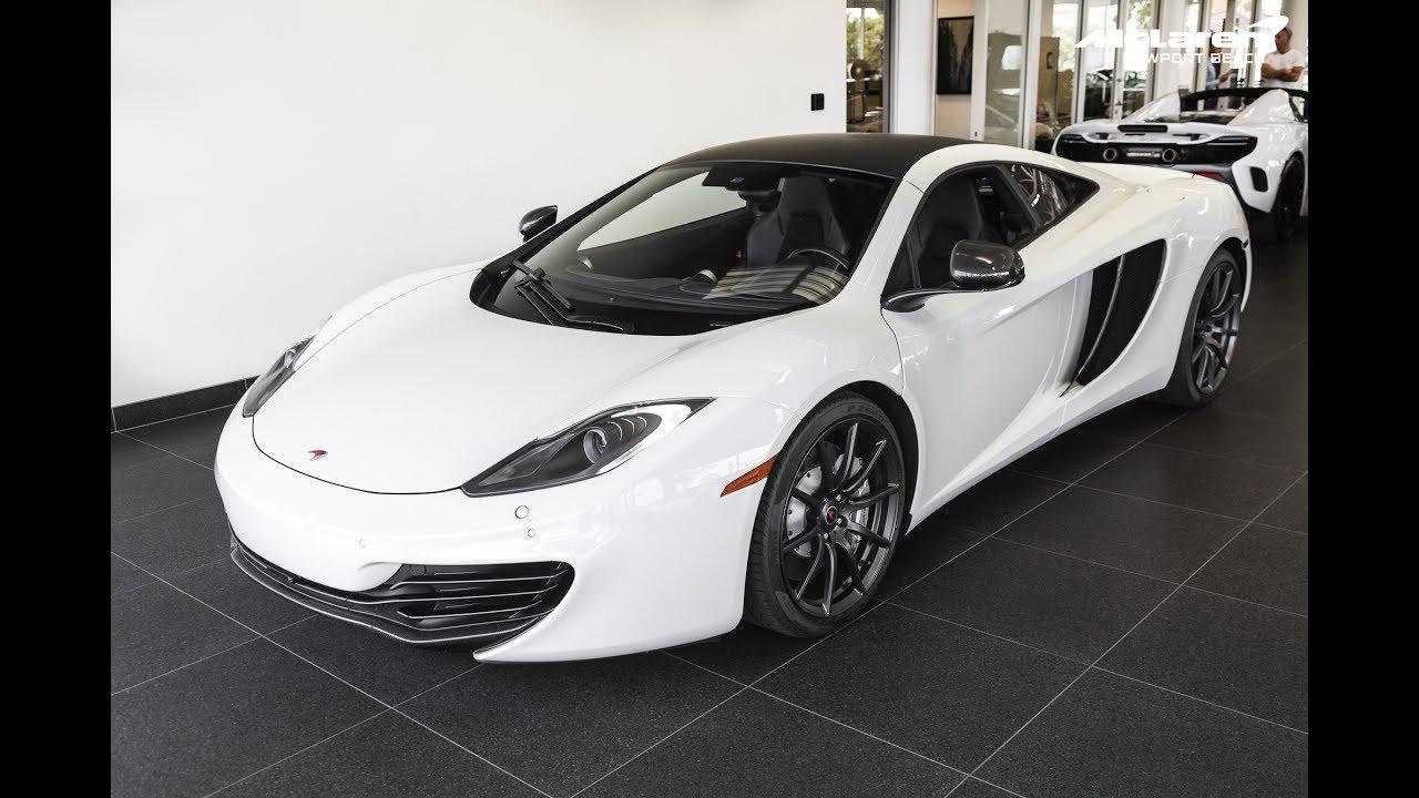 """2012 """"white"""" mclaren mp4-12c coupe - youtube"""