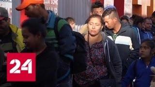 Спецслужбы США завербовали тысячи агентов для слежки за караваном мигрантов - Россия 24