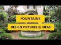 50+ Best Outdoor Fountains Design Pictures & Ideas 2018