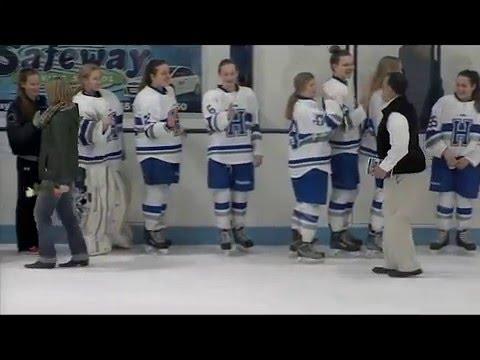 Minneapolis vs Hopkins Park Girls Hockey 1/28/16