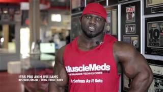 thing i wish i knew ifbb pro bodybuilder akim williams