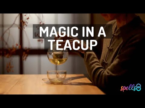 🌿☕ Wiccan Spell for Anxiety (Candle + Hyssop Tea) Remove Stress with Magic