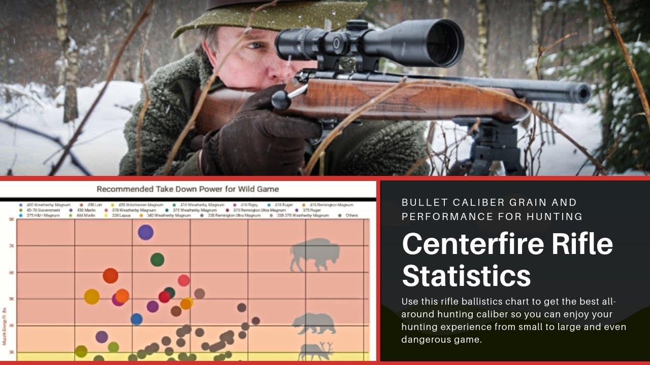 Centerfire Rifle Statistics: Choose the Best All-around