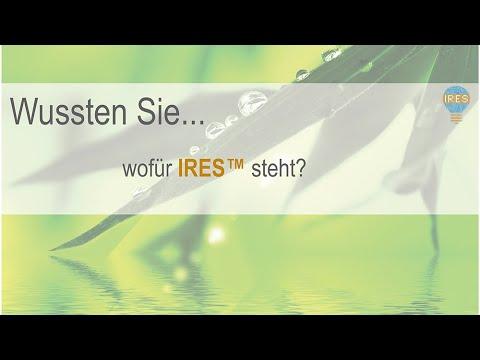 """INTENSE AG: """"Wussten Sie, wofür IRES™ steht?"""" (Das """"Wussten Sie...""""-Format)"""