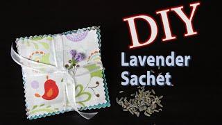 Mother's Day Gift Idea: DIY Lavender Sachet