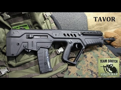 IWI Tavor Rifle Review