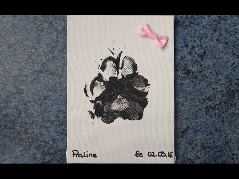 TUTO Frimousse Dog - Empreinte De Patte De Praline
