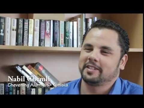 Meet Nabil Tunisian Chevening Alumnus/تعرفوا على نبيل أحد قدماء برنامج  تشيفيننج