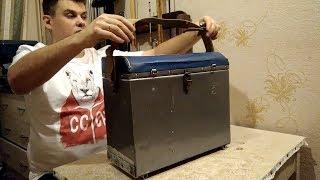 Ящик для зимней рыбалки 1870 Aquatech с боковыми карманами видео обзор,размеры