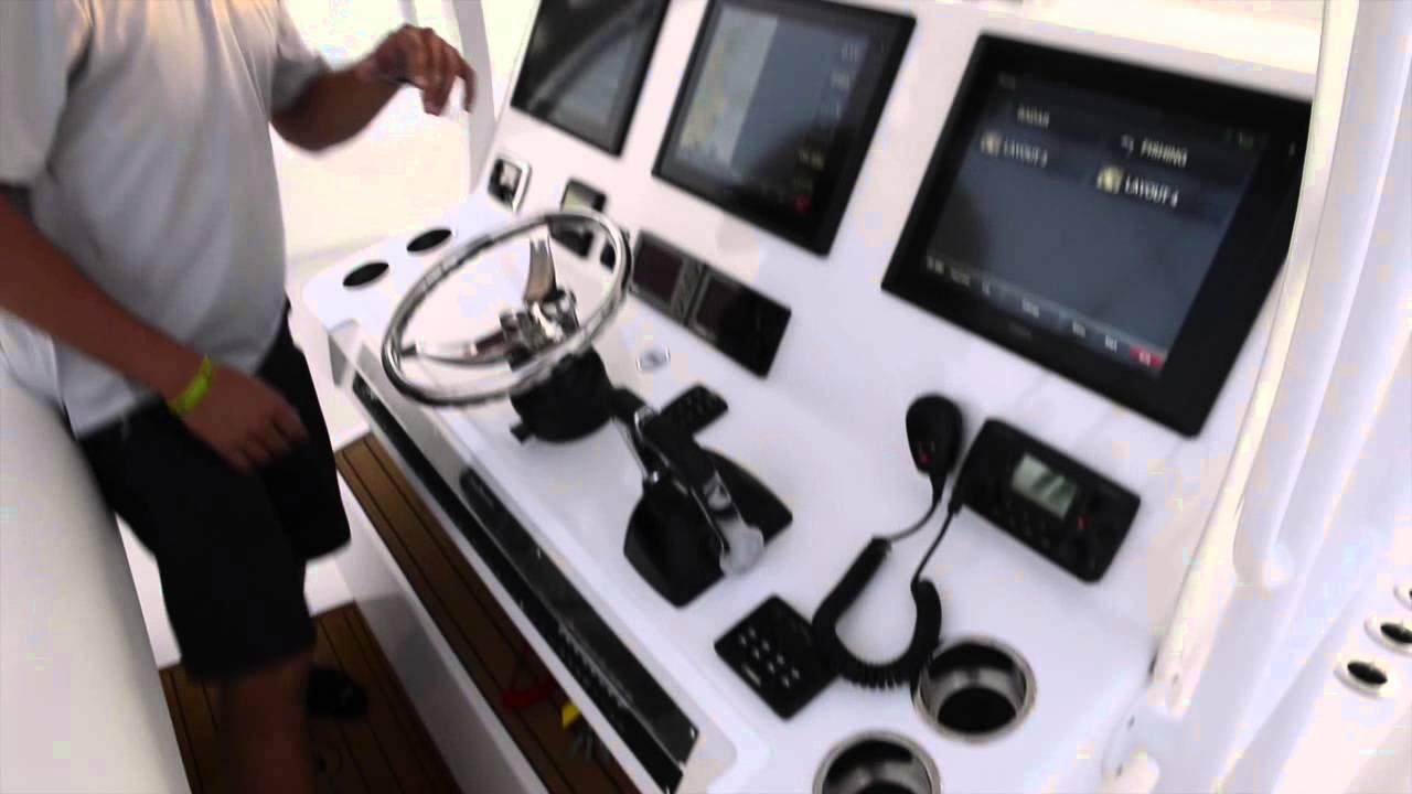 2014 White 45ft SeaHunter - YouTube