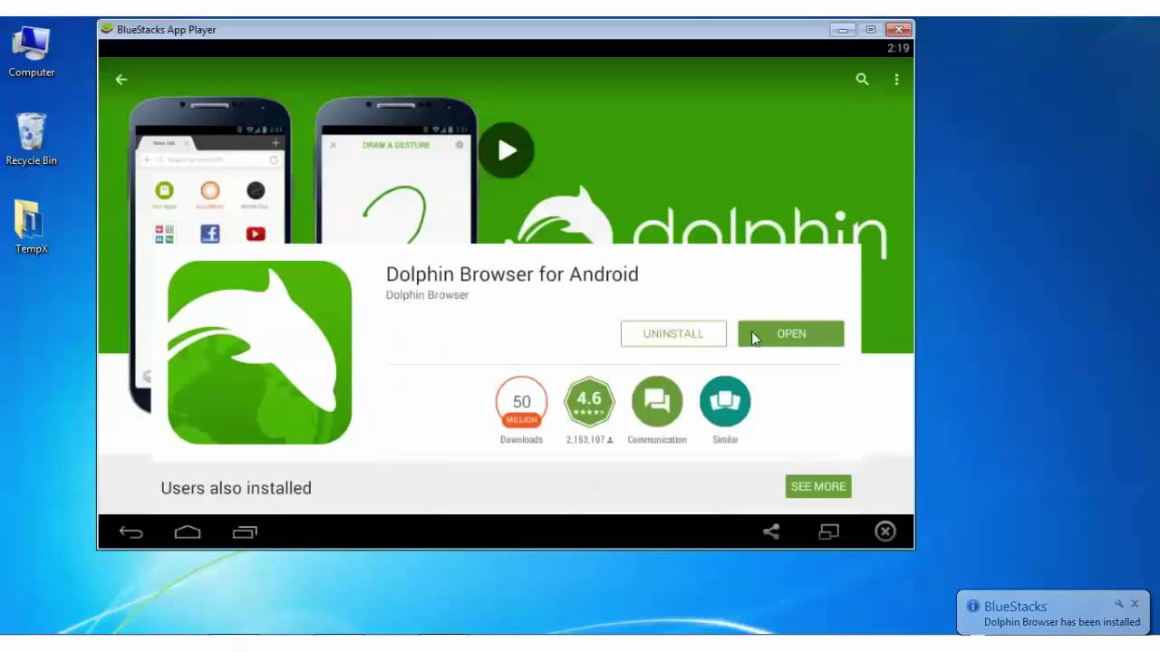 Dolphin Browser for Windows 7/8.1/10 PC - YouTube