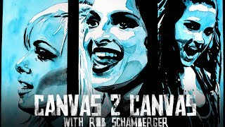 The Riott Squad invades the canvas: WWE Canvas 2 Canvas